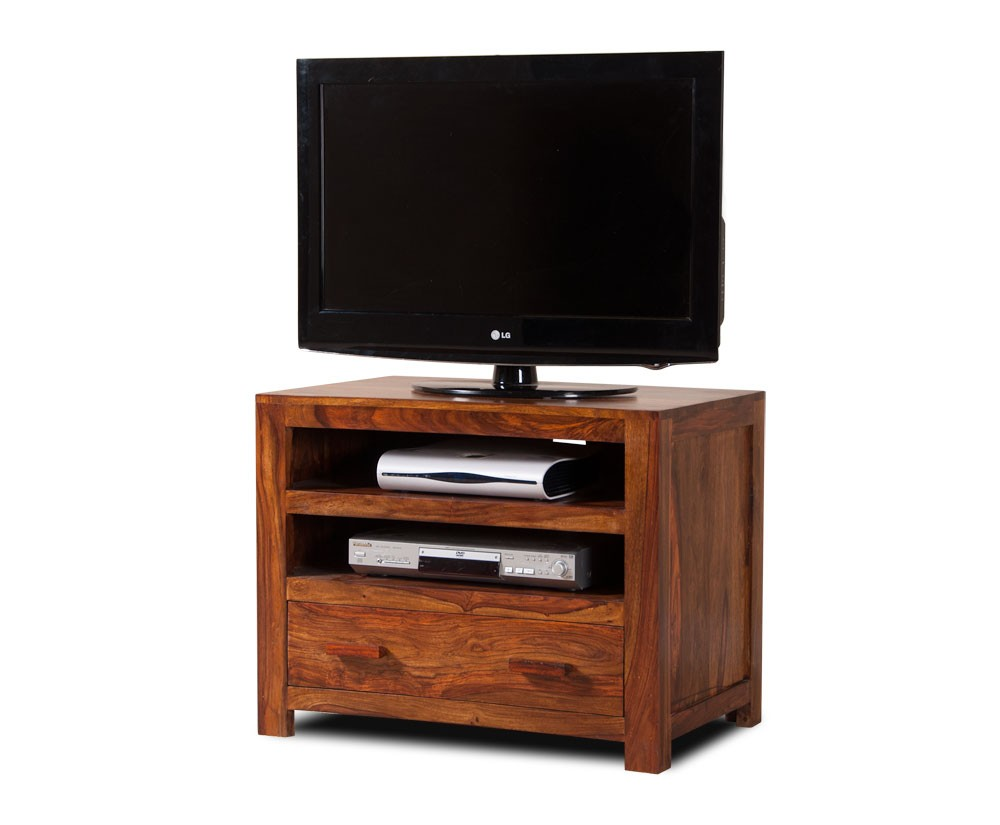 handcrafted solid wood tv unit small casa bella sheesham furniture. Black Bedroom Furniture Sets. Home Design Ideas