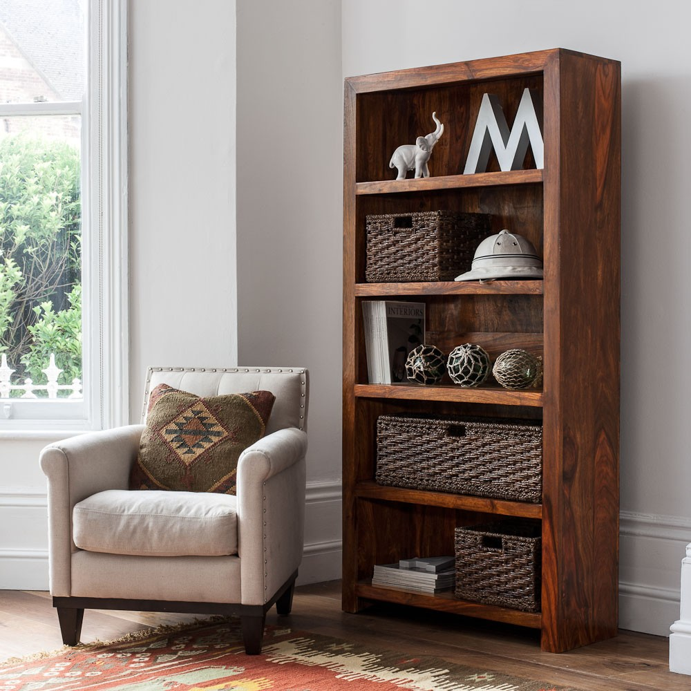 Kashmir Sheesham Tall Bookcase 1