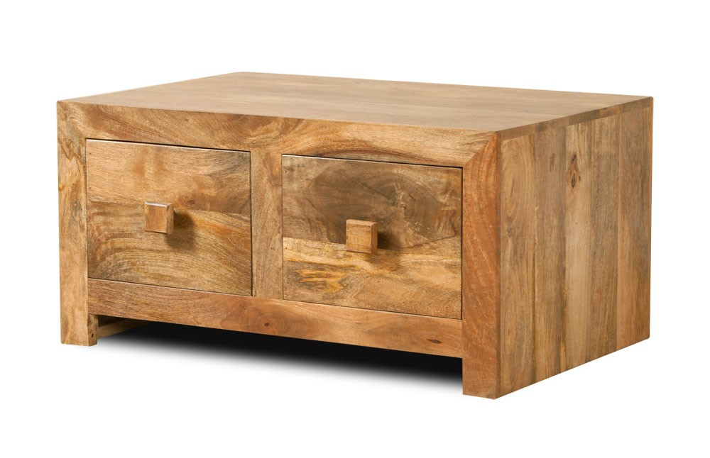 Mango Wood 4 Drawer Coffee Table
