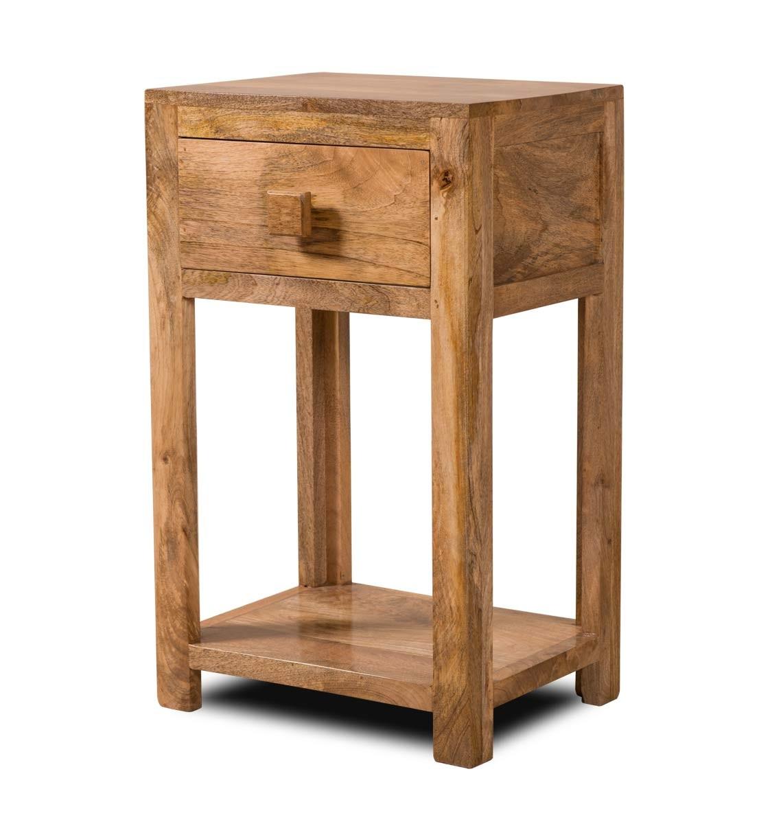 Solid mango wood corner bookcase casa bella fine indian for Indian furniture