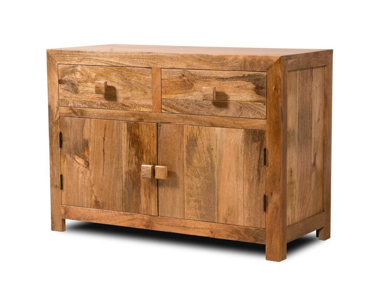 Solid Mango Wood Sideboard Medium Casa Bella Fine