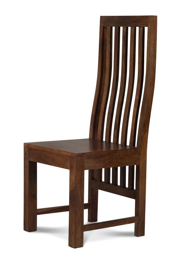 Solid Mango Wood Dining Chair Casa Bella Fine Indian