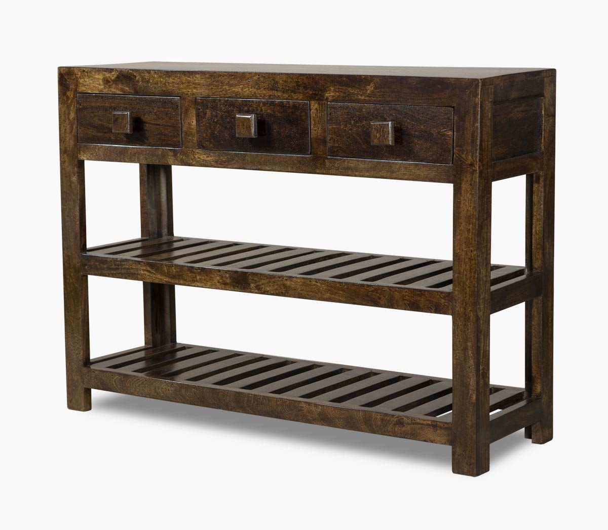 Solid mango wood console table casa bella fine indian