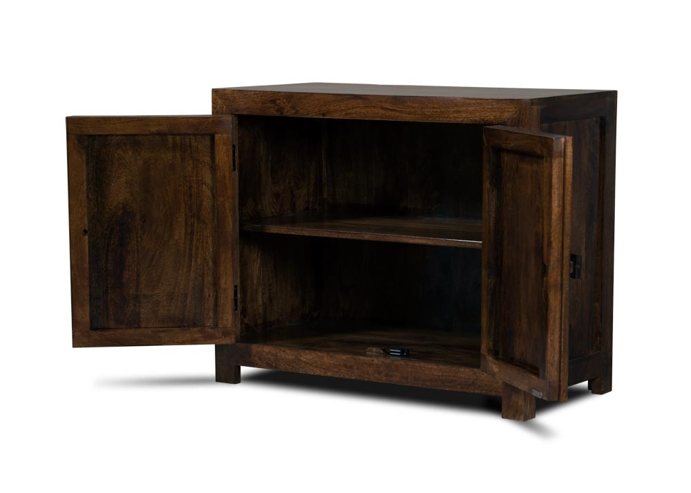 The uk s 1 for stunning reclaimed teak wood furniture - Natural Indian Wood Sideboard Small Mango Wood Cupboards