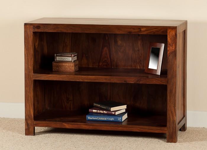 Solid Wood Bookcase Casa Bella Handcrafted Sheesham