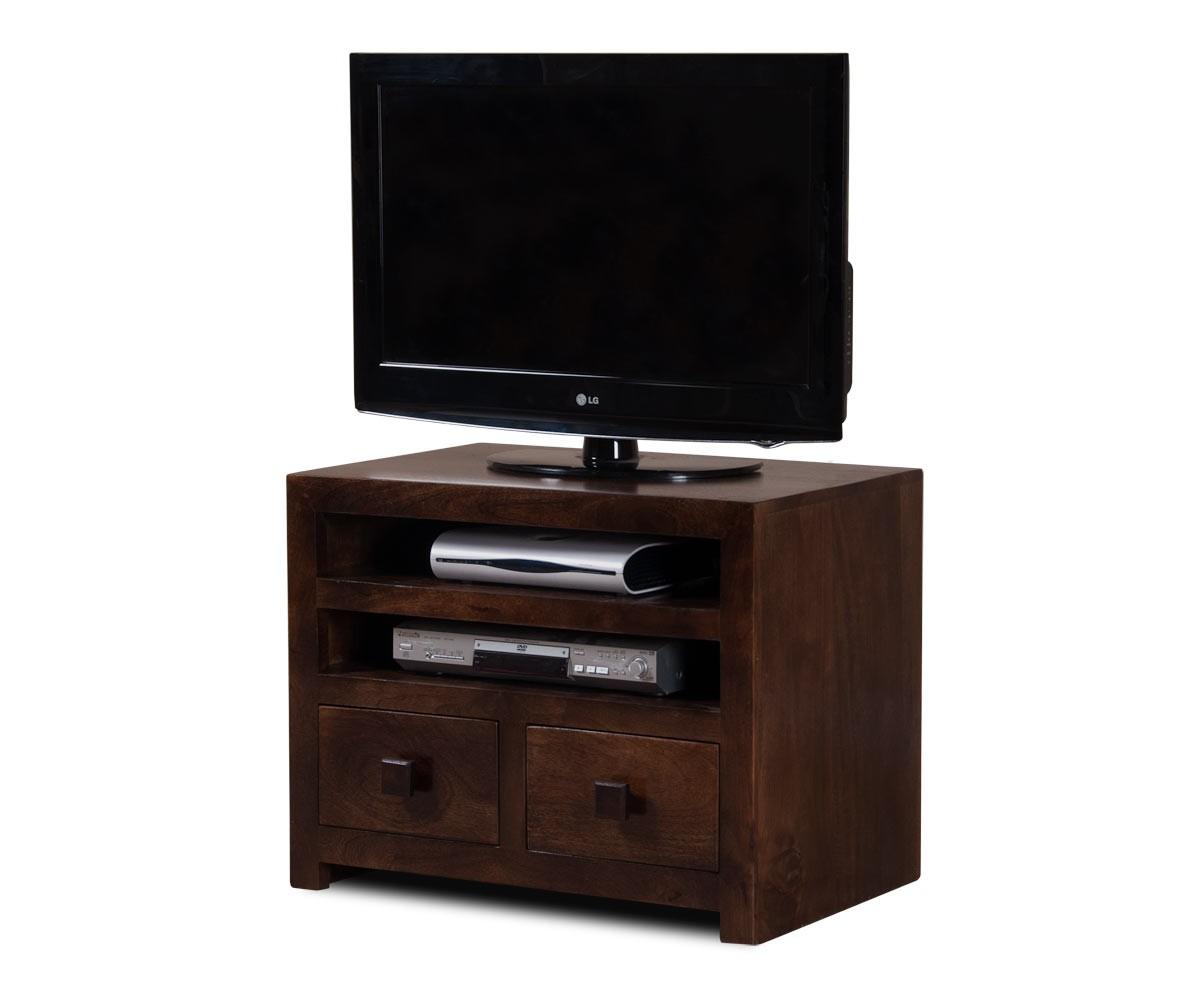 Solid Mango Wood TV Unit Casa Bella Handcrafted Indian