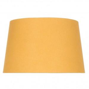 30cm Mustard Handloom Tapered Cylinder Shade