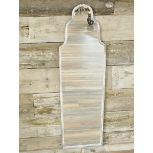 Tall Shaped Rustic Wall Mirror