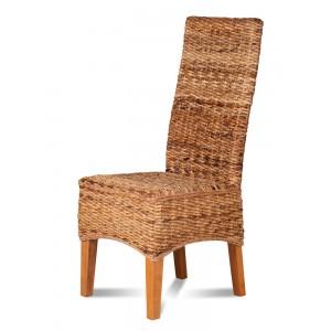 Catalina Rattan Dining Chair - Light Leg 1