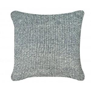 Grey Millange Moss Stitch Cushion 1