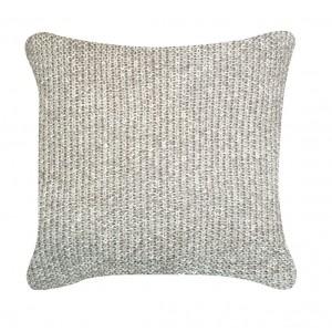 Natural Millange Moss Stitch Cushion 1