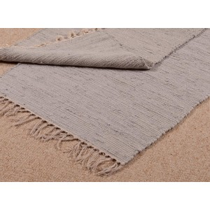 Small Cotton Rug/Door Mat - Blue/Grey (RR912) 1