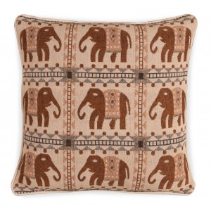 Large Jacquard Cushion - Elephant 1217 1