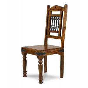Jali Sheesham Dining Chair 1