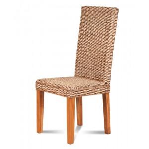Laguna Rattan Dining Chair - Light Leg 1