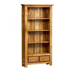 Indus Acacia Tall Bookcase 1