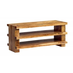 Indus Acacia Shelved TV Unit 1