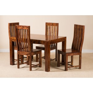 Kashmir Sheesham 4-Seater Dining Set 1