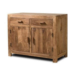Kashmir Stonewashed Sheesham Small Sideboard 1