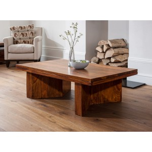 Kashmir Sheesham Angled Coffee Table 1