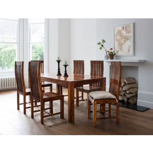 Kashmir Sheesham 6 Seater Dining Set 1