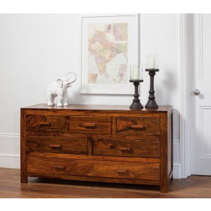 Kashmir Sheesham Large Chest Of Drawers 1