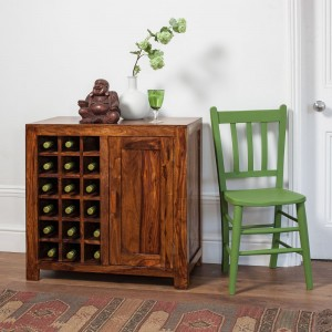 Kashmir Sheesham Wine Cabinet 1