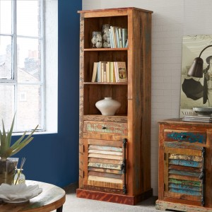 Reclaimed Indian Alcove Bookcase 1
