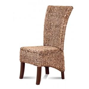 Rosanna Rattan Dining Chair - Dark Leg 1