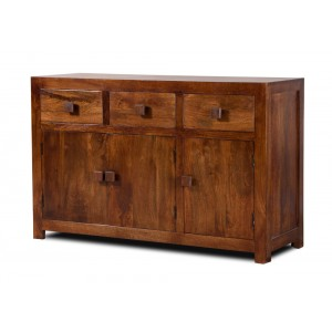 Dakota Mango Large 3 Door Sideboard 1
