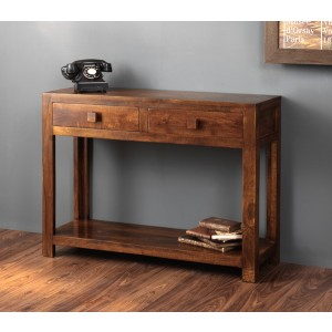 Dakota Mango Console Table 1