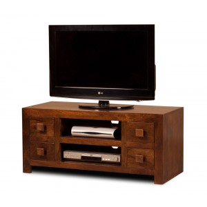 Dakota Mango Low TV Unit 1