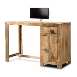 Dakota Light Mango Medium Computer Desk 1