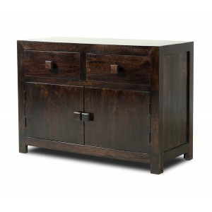 Dakota Dark Mango Medium Sideboard 1