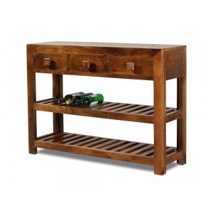 Dakota Mango Large Console Table 1