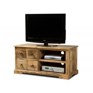 Thakat Light Mango Large 4 Drawer TV Cabinet 1