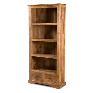 Thakat Light Mango Tall Bookcase 1