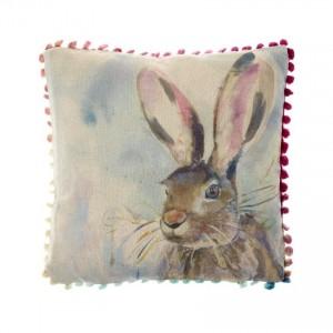Arthouse Hare Cushion