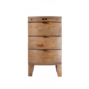 Antigua Reclaimed Bedside Chest 1