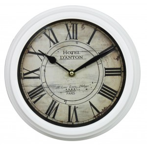 Ivory Vintage Wall Clock