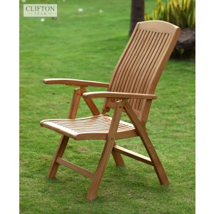 Hampshire Teak Reclining Armchair 1