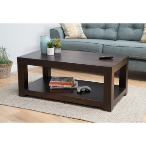 Dakota Dark Mango Open Coffee Table 1