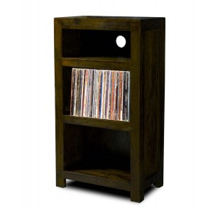 Dakota Dark Mango LP Hi-Fi Unit - Tall