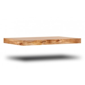Dakota Light Mango Floating Shelf