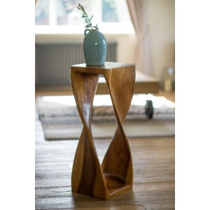 Extra-Large Single Twist Table - Honey