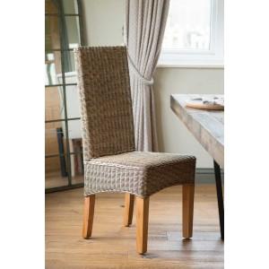 Ibis Rattan Dining Chair - Light Leg 1