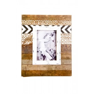Retro Print Inspired Picture Frame