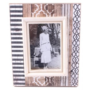 Geometric Print Inspired Picture Frame