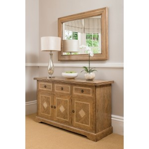 Florence Mango and Stone Wide Sideboard 1