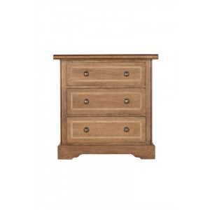 Florence Mango and Stone 3 Drawer Chest 1